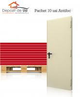 10 x Usa antifoc EI 60 800 x 2050 Reversibila RAL 1013 1 canat