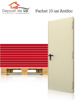 10 x Usa antifoc EI 60 900 x 2050 Reversibila RAL 1013 1 canat